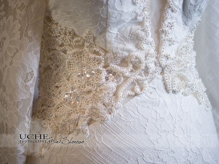 22_A.Cherie couture custom mermaid wedding dress waist beading details showing the beading sequinns and lace combinations