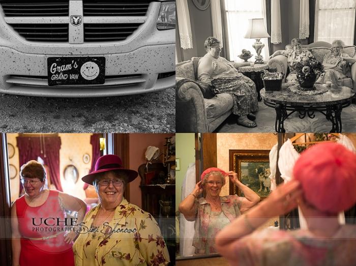 gram's van arrives