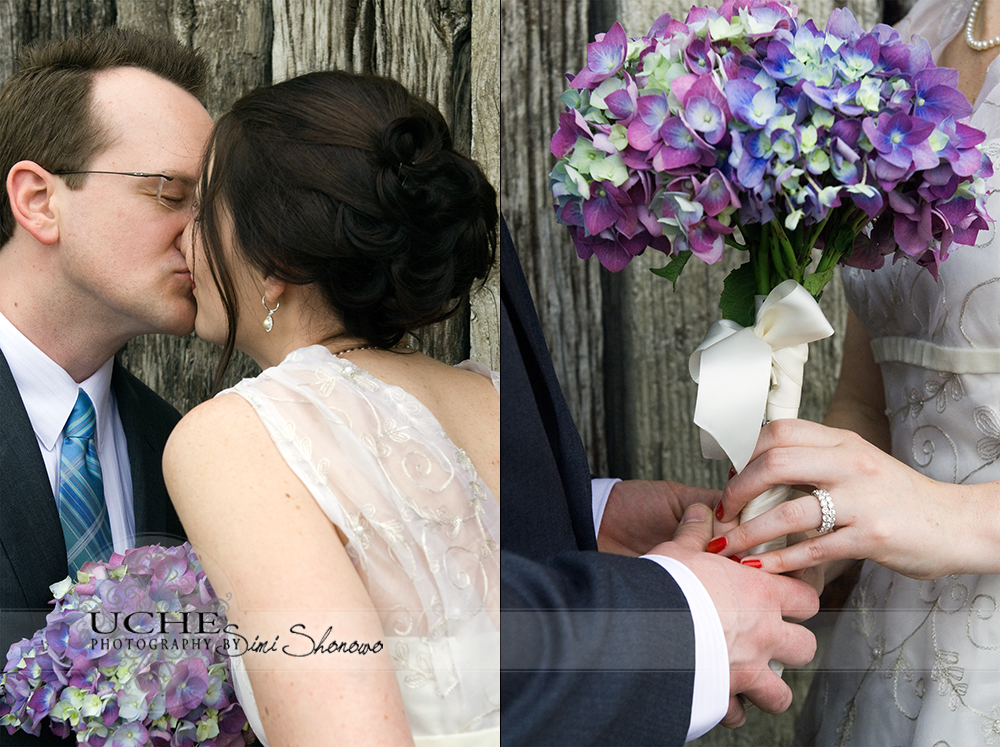 kiss and hands