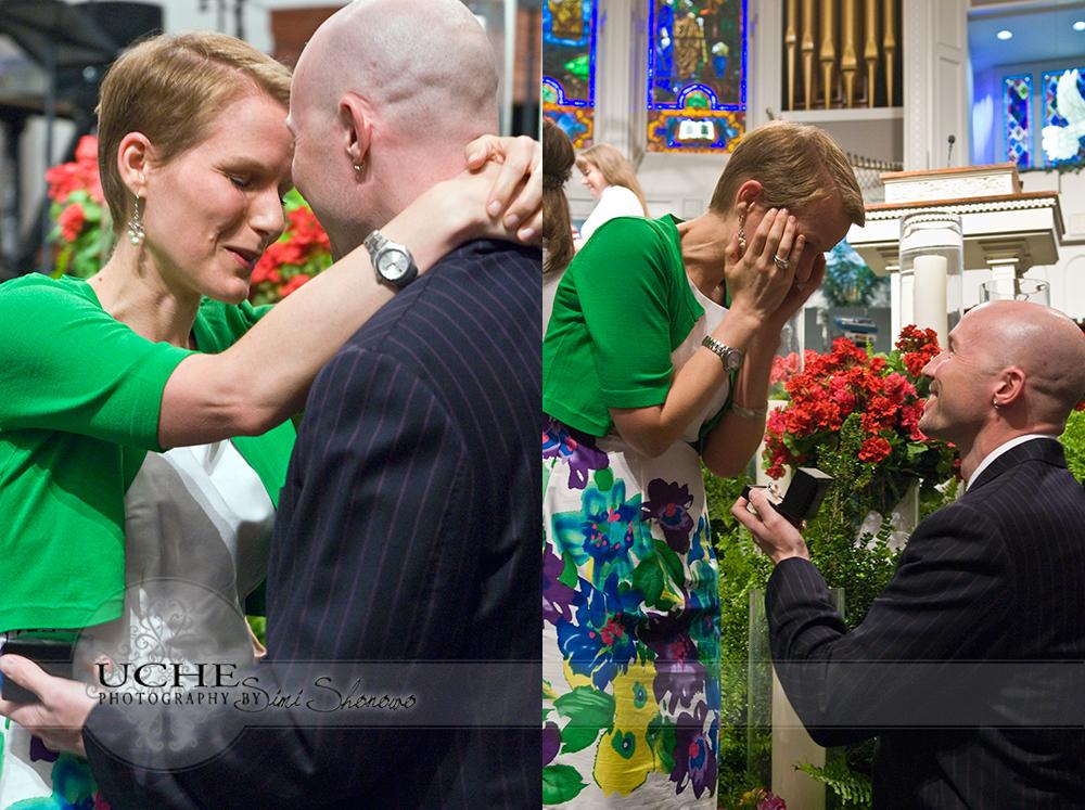 engagement surprise