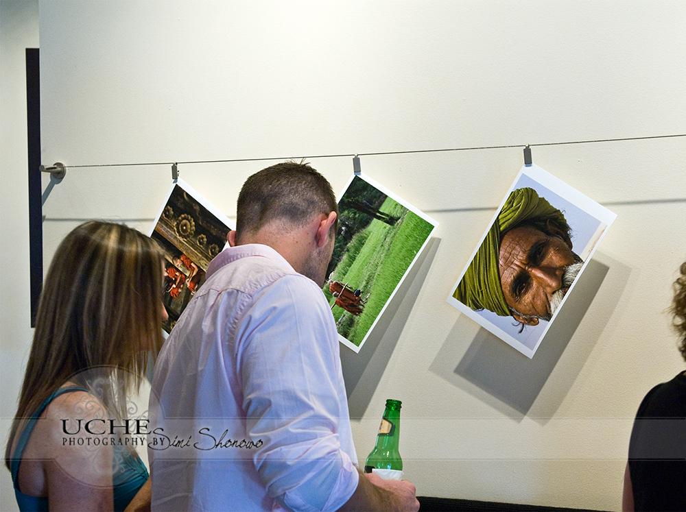 looking through prints