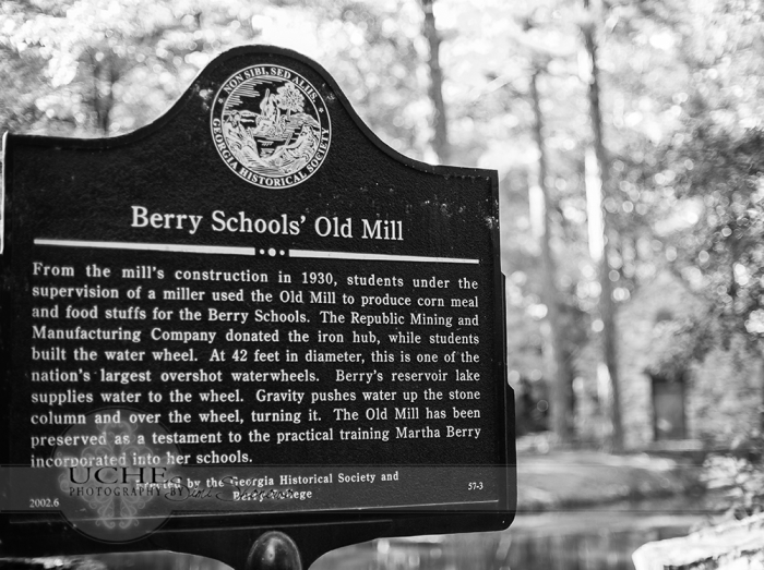 berry schools' old mill