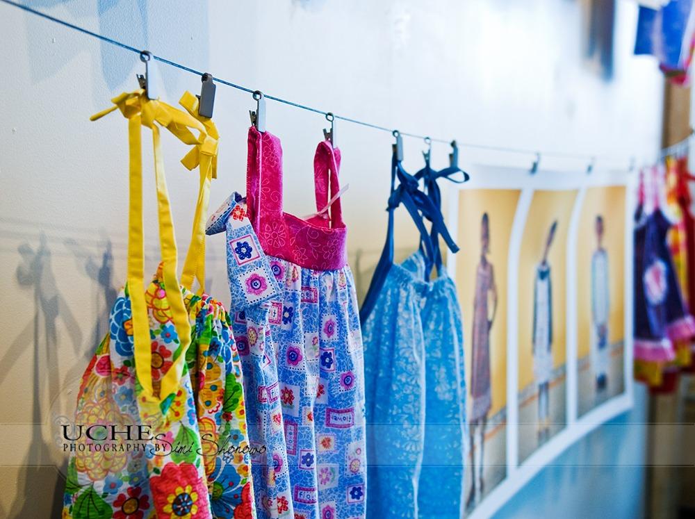 clothes line...